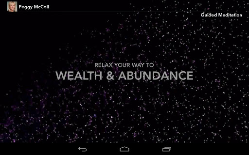 Peggy McColl Wealth Meditation