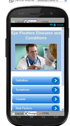 Eye Floaters Information