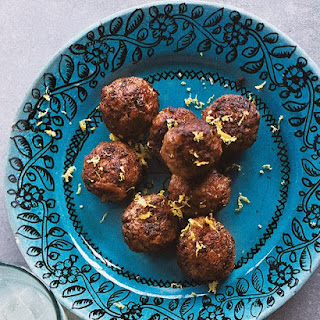 Meatballs with Ouzo and Mint.