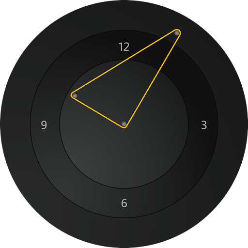 Zen Triangle Watch Face