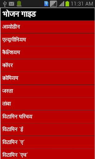 bhojan guide in hindi