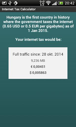 【免費工具App】Internet Tax Calculator-APP點子