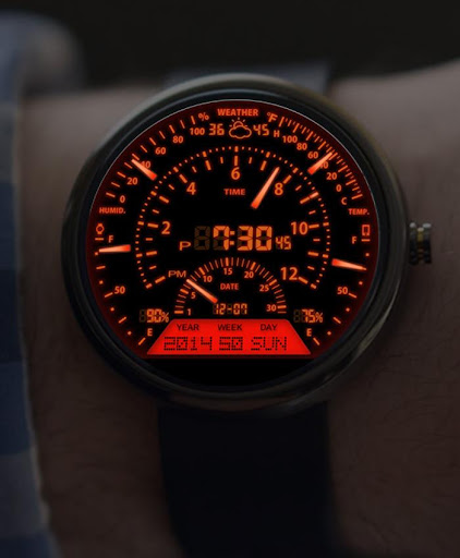 V06 WatchFace for Moto 360