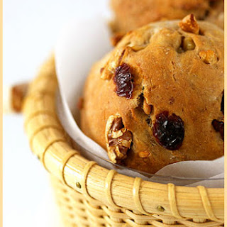 Cranberry Walnut Bread Rolls.
