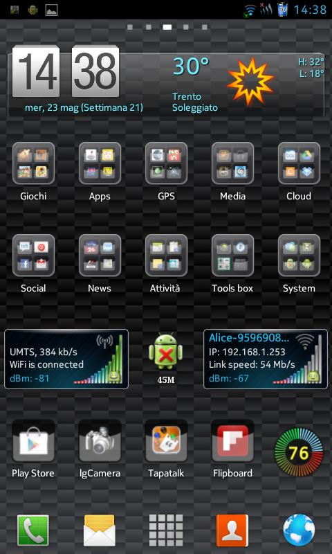 CM10.1 cm10 AOKP THEME Carbon - screenshot
