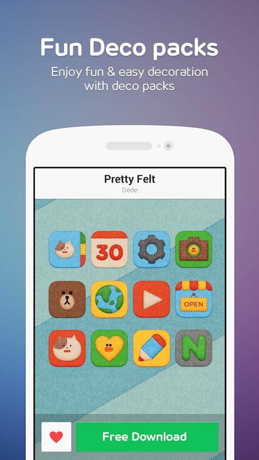 Line Deco Wallpapers Icons Screenshot