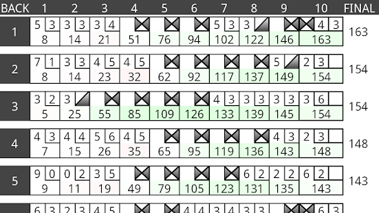 Bowling Stat Master- screenshot thumbnail