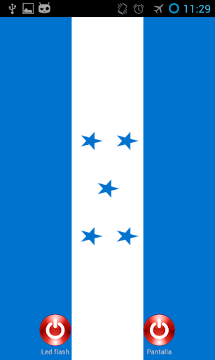 Linterna flash led Honduras