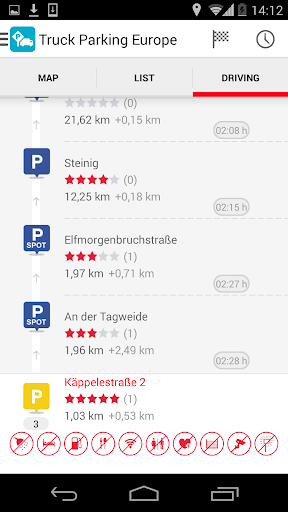 【免費交通運輸App】Truck Parking Europe-APP點子