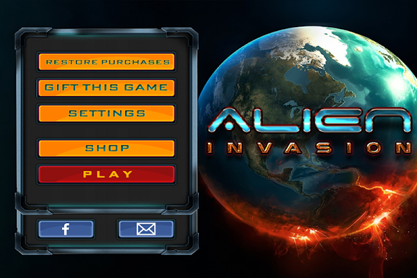 ALIEN INVASION FREE YOUR WORLD - screenshot
