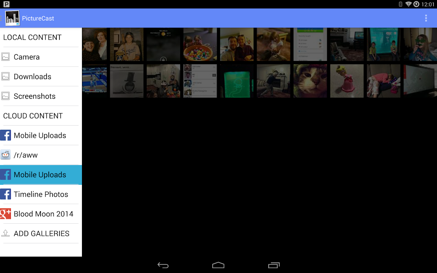 PictureCast for Chromecast- screenshot