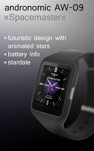 Spacemaster Watch Face AW-09