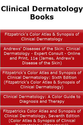 Clinical Dermatology Books