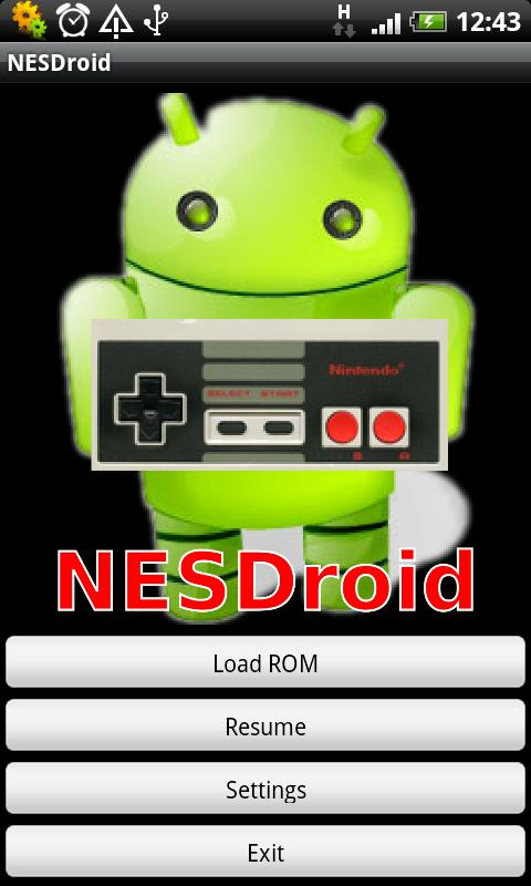 NESDroid - screenshot