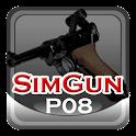 Sim Gun P08 logo