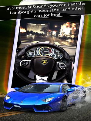 6 SuperCar Sounds App screenshot