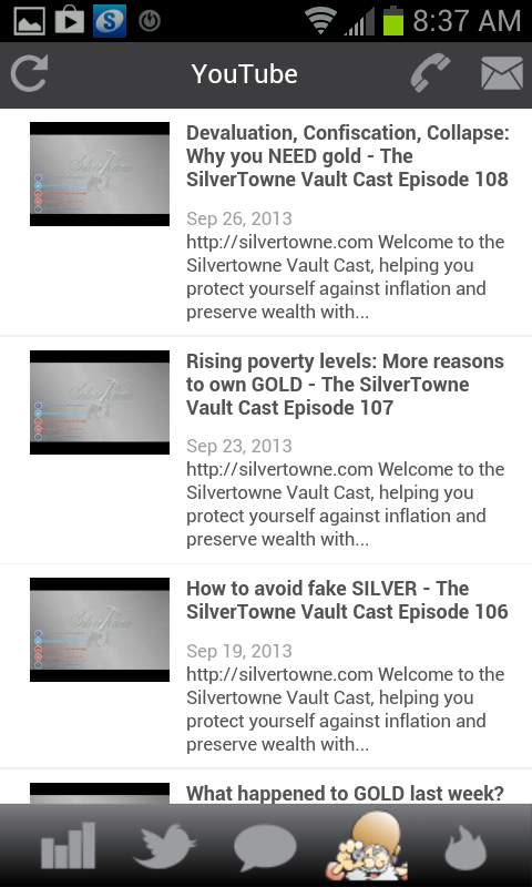 Silver Now- screenshot