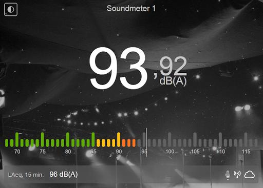 Munisense Sound Event Display
