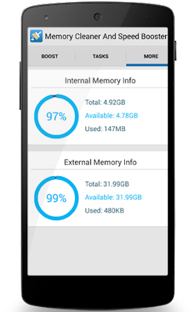 Memory Cleaner & Speed Booster 2.1 screenshot 484328