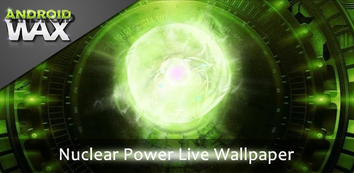 Nuclear Power Live Wallpaper v2.0 Apk