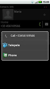 Telepele Latvia - free calls- screenshot thumbnail