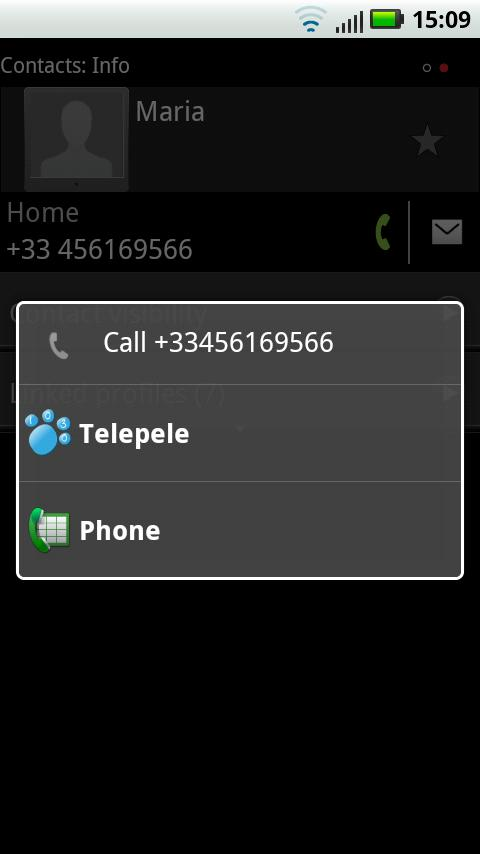 Telepele Latvia - free calls- screenshot