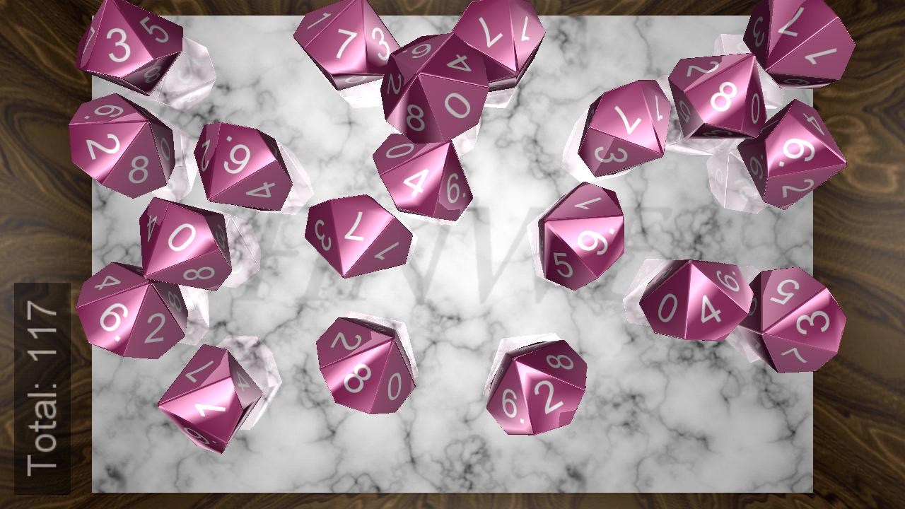 Fantasy Dice - screenshot
