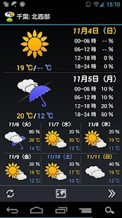 WeatherNow (JP weather app)- screenshot thumbnail