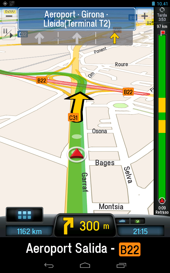 CoPilot Premium Europe GPS App - screenshot