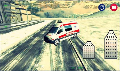 救急車の運転ゲーム 3D