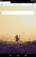 Screenshot of Javelin Browser