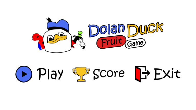 Dolan Duck Fruit Game- screenshot