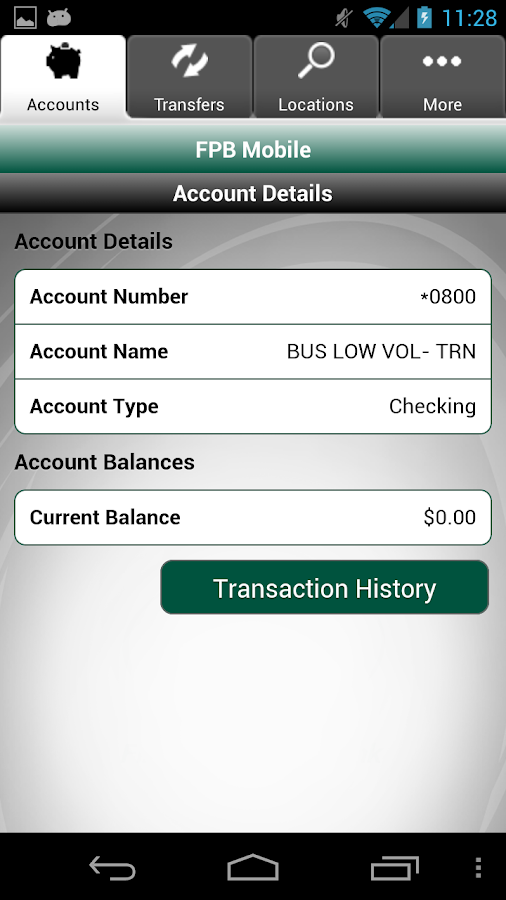 First PREMIER Bank - screenshot