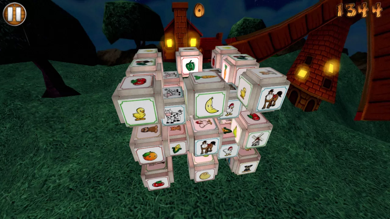 Barnyard Mahjong 2 - screenshot
