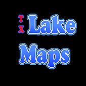 Texas Lake Maps
