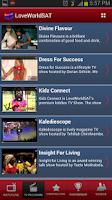 Screenshot of LoveWorld SAT Mobile