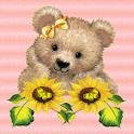 Sunflower Teddy Bear LWP logo