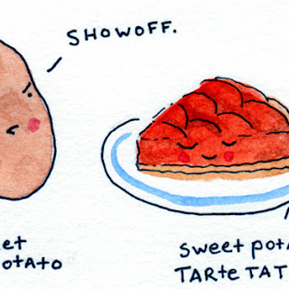 Sweet Potato Tarte Tatin