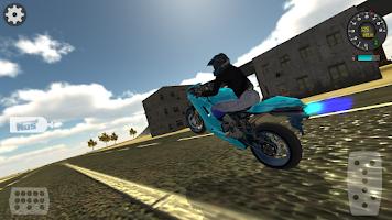 Screenshot of Motorbike Driving Simulator 3D