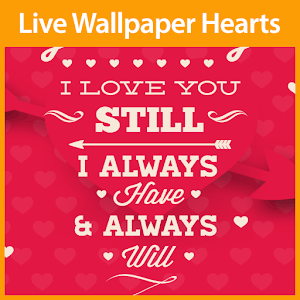 Download Hearts Live Wallpaper for Pc