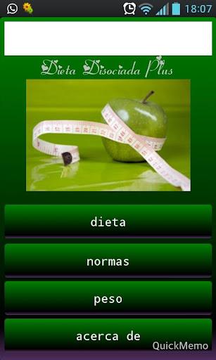 Dieta Disociada Plus