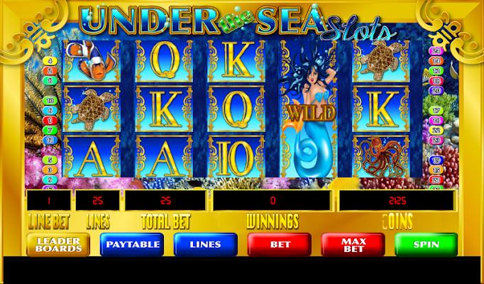 Under the Sea Slots - screenshot