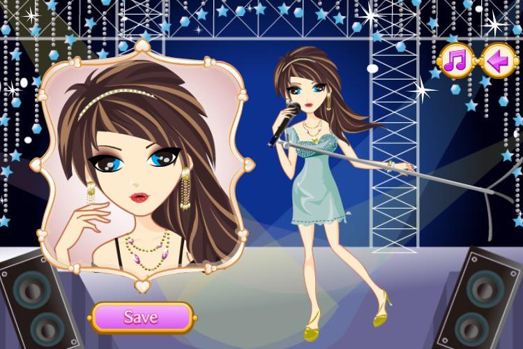 Singer Star Makeover Salon - screenshot
