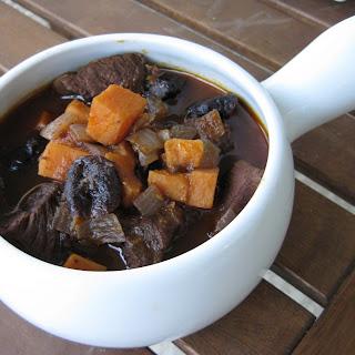 Lamb and Sweet Potato Stew.