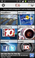 Screenshot of News 10 NBC WHEC