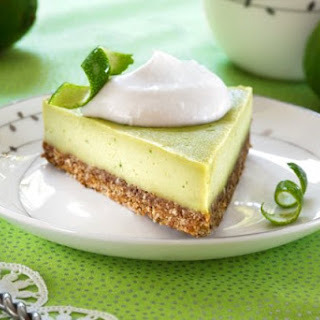Raw Key Lime Pie from Choosing Raw