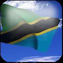 3D Tanzania Flag + icon