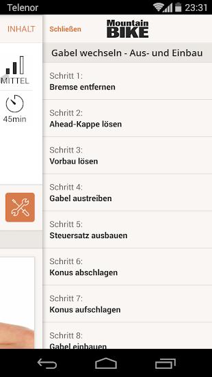 MountainBIKE Werkstatt- screenshot thumbnail
