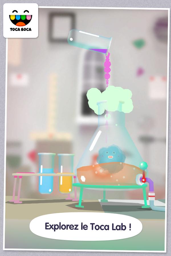 Toca Lab– Capture d'écran