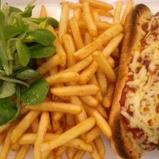 Meatball Sub with Shoestring Fries Recipe